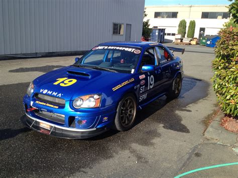 subaru road car 2005 touring st subaru impreza wrx sti road race car