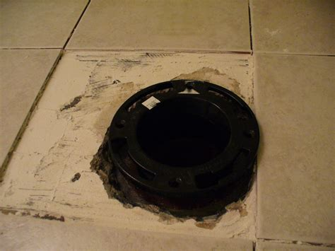Toilet Flange On Concrete Floor by Install Toilet On Concrete With No Closet Flange Todos