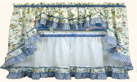 Blue And Yellow Kitchen Curtains Kitchen Curtain Patterns Soft Blue And Yellow Kitchens Blue And Yellow Kitchen Curtains