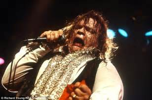 paradise by the dashboard light meatloaf loaf blames dehydration for his onstage collapse at