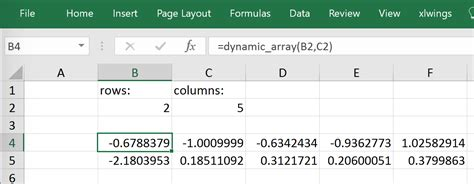 Tutorial Xlwings | excel vba function return dynamic array excel vba