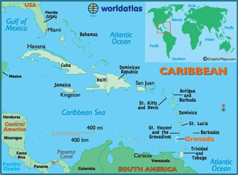 map of grenada island honeymoon travel rrific