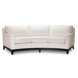 White Curved Sofa Elite Leather Curved Sofa In Chalk White For The Home