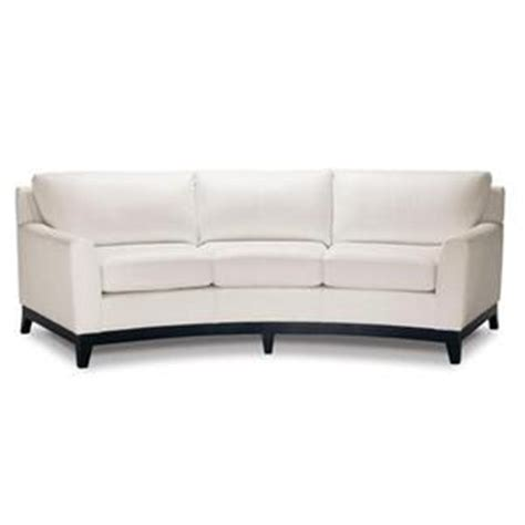 White Curved Sofa Elite Leather Curved Sofa In Chalk White For The Home Pinterest