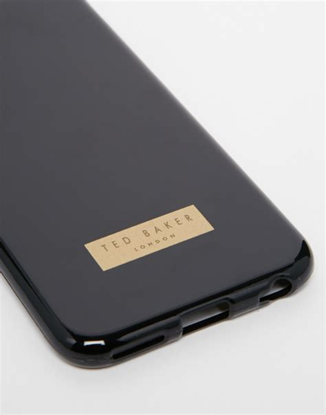 Iphone 6 Ted Baker 13 by Lyst Ted Baker Rubber Iphone 6 In Black