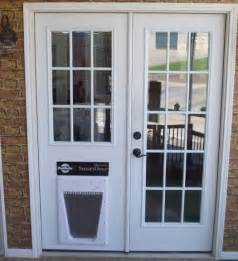 Patio Door With Pet Door Built In Replace Sliding Glass Door With Dog Door In The Doghouse