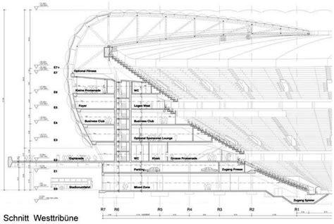 football stadium floor plan allianz arena bayern munich football stadium e architect