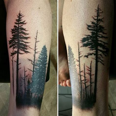 forearm forest tattoo 60 forearm tree designs for forest ink ideas