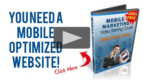 free mobile marketing free mobile marketing course learn now mobile