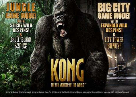 play kong      world video slot  playtech