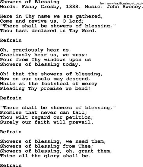 There S A Place Of Rest Lyrics Lyrics To Showers Of Blessings 28 Images Showers Of Blessing Christian Devotional Song With