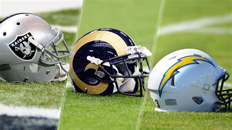 raiders or chargers oakland raiders st louis rams and san diego chargers