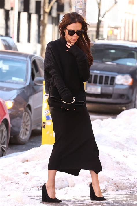 beckham out and about in new york hawtcelebs