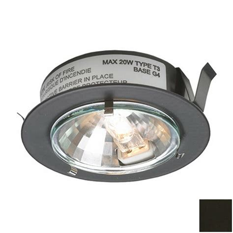 Shop Dals Lighting 2 625 In Hardwired Plug In Under Halogen Cabinet Lighting
