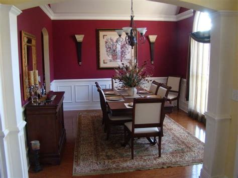 red dining rooms classic dining room formal dining room in deep red with