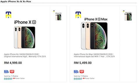 you pre order the iphone xs in malaysia from rm4 999 soyacincau