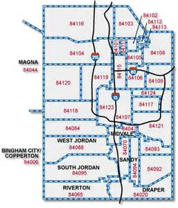 Slc Zip Code Map by Absorption Rates For Each Zip In Salt Lake County