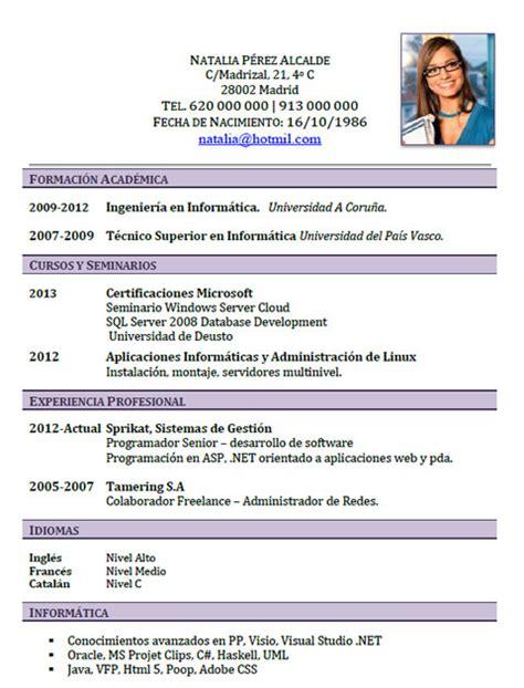 Modelo Curriculum Vitae Tecnico Informatica Como Hacer Un Curriculum Vitae Como Hacer Un Curriculum Informatica