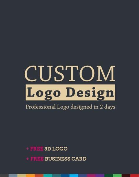 Custom Logo Design Package Premium Logo Designs Customizable Logo Templates