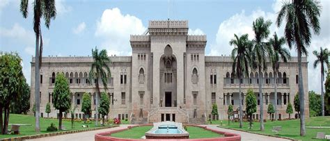Mba Colleges Affiliated To Osmania In Hyderabad by Osmania Ou Hyderabad Admissions Contact