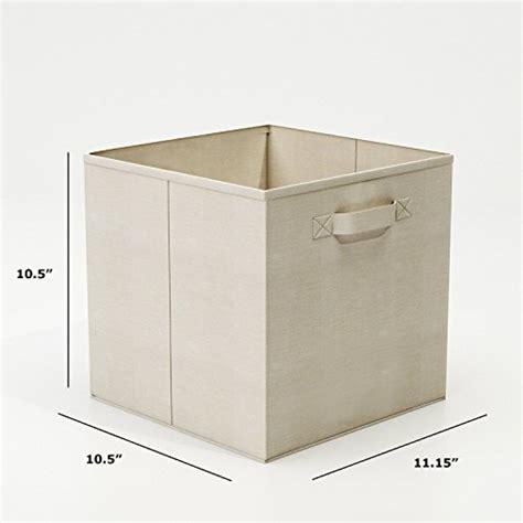 Storage Bins For Closets by Closet Organizer Fabric Storage Basket Cubes Bins 6