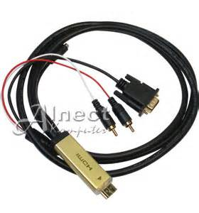 Harga Converter Rca To Usb jual kabel konverter hdmi to vga audio rca kabel