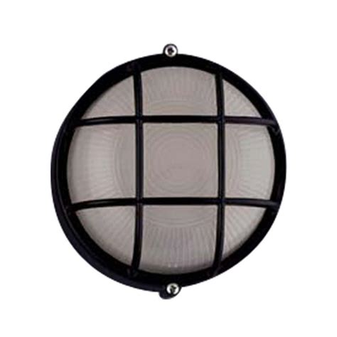 nautical outdoor lighting home depot plc lighting 1 light outdoor black wall sconce with frost