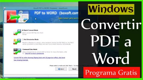 convertir imagenes de pdf a word gratis como convertir pdf a word programa windows gratis youtube