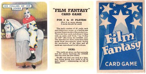 Film Fantasy Card Game | film fantasy the world of playing cards