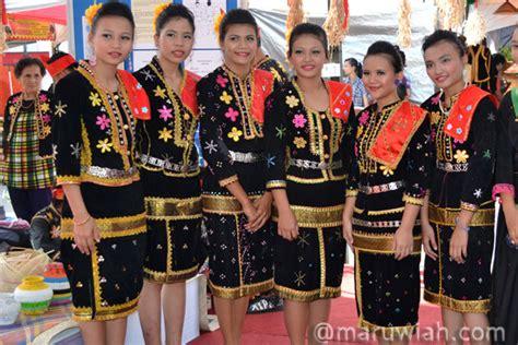 Baju Etnik Kedayan pakaian tradisional etnik etnik di sabah maruwiah ahmat