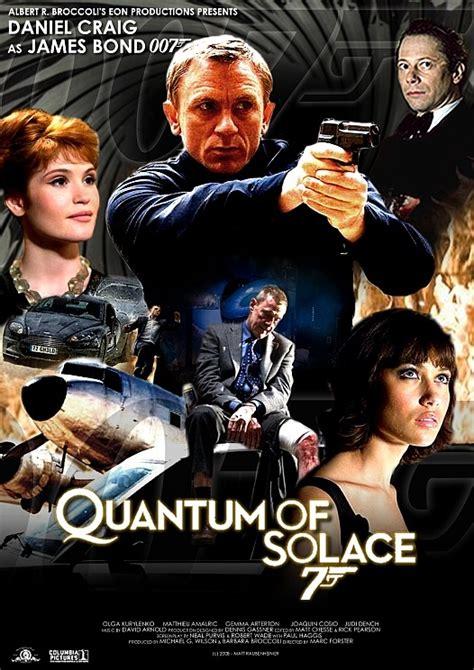musique du film james bond quantum of solace 2008 quantum of solace golrush 007 fan art