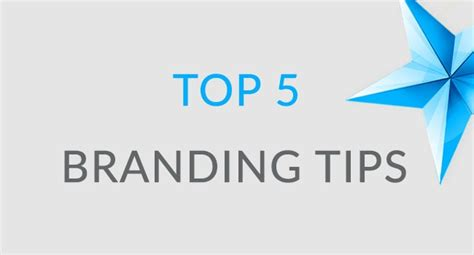 4983 Best Branding Tips Business - top 5 branding tips blue spark web designs