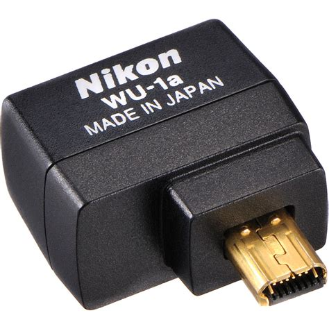 Nikon Wu 1a Wireless Mobile Adapter nikon wu 1a wireless mobile adapter 27081 b h photo