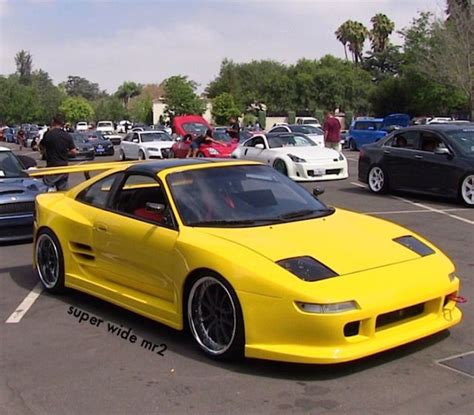car service manuals pdf 1992 toyota mr2 instrument cluster jt2sw22n9n0059060 super widebody toyota 92 mr2 turbo modified wide showcar custom yellow