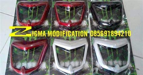 Lu Hid Motor Nvl zigmodify custom bike topeng kedok headl abs yamaha