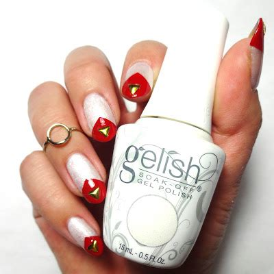I M Drawing A Blanco Gelish by Lacquered Lawyer Nail I M Drawing A Blanco