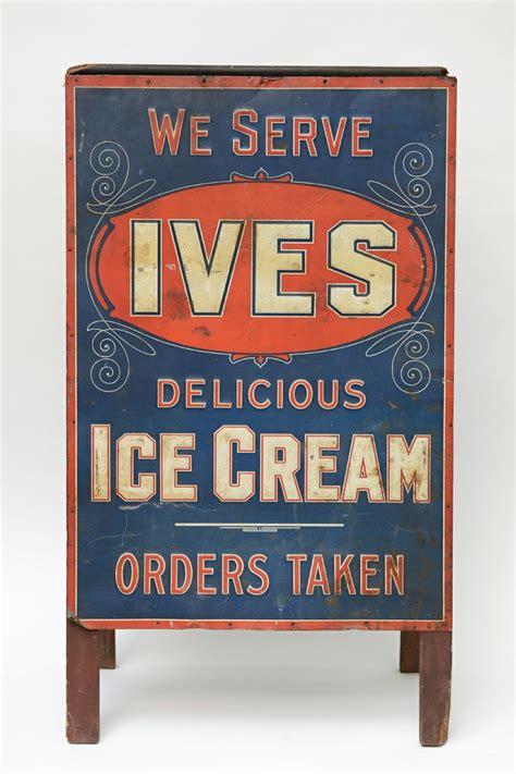 plaques adh駸ives cuisine metal quot ives quot sandwich board from a unique