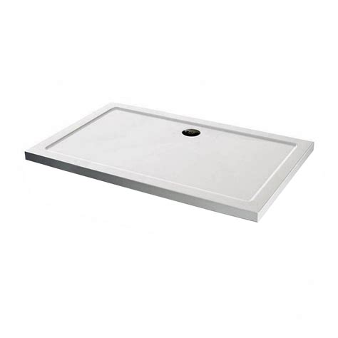 shower tray rectangular stone shower tray 1100 x 800 victoriaplum com