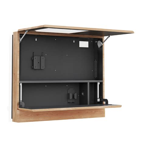 wall mount laptop cabinet wall mounted computer workstation cabinet afcindustries