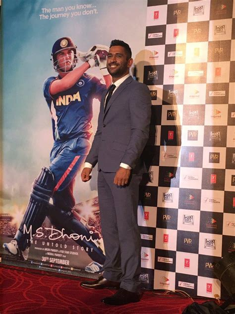 dhoni biography movie release date m s dhoni the untold story trailer launch stills hindi