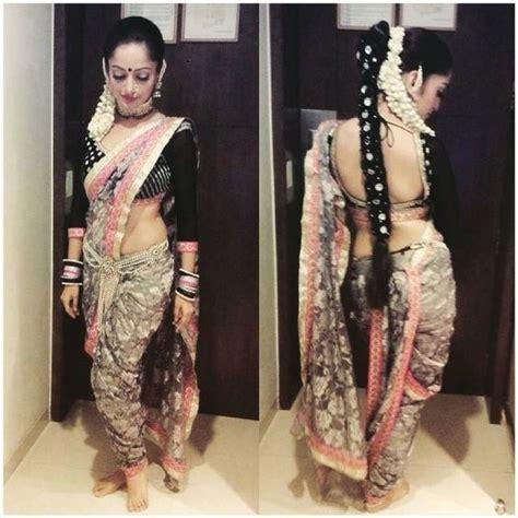 hairstyles in nauvari saree braid hairstyles saree and braids on pinterest