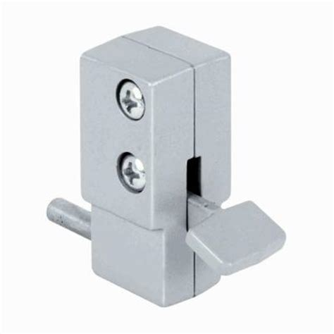 prime line aluminum step on sliding door lock u 9877 the