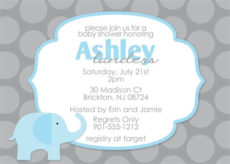 baby shower template invitation baby shower invitation free baby shower invitation