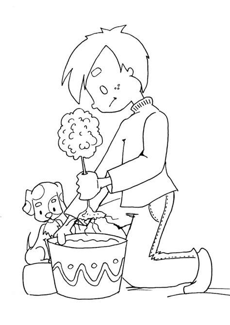 imagenes para colorear jardin plantando arboles dibujalia dibujos para colorear