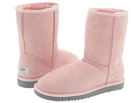 Light Pink Ugg Boots by What Was Suri Cruise Wearing Recently