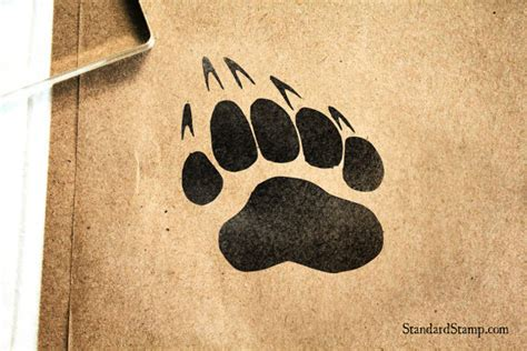 paw print rubber st claw paw print rubber st 2 x 2 inches