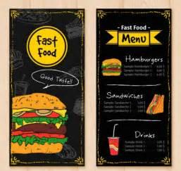 Fast Template fast food menu design templates www imgkid the