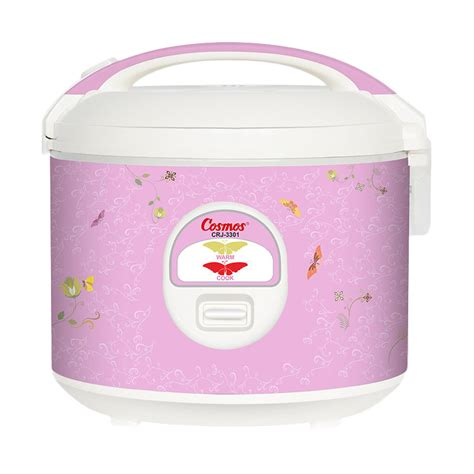Rice Cooker Serbaguna jual cosmos crj 3301 non stick rice cooker 1 8l harga kualitas terjamin blibli