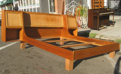 mid century bed frame furniture mid century king size bed frame with headboard