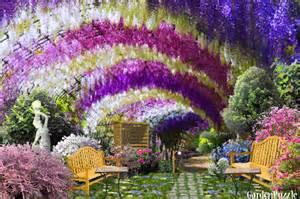 Online Backyard Design Tool flower arch gardenpuzzle online garden planning tool